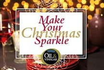Make Your Christmas Sparkle! / We like to inspire you with delicious recipes, beautiful tableware and wonderful gifts. Gifts are available in our stores now, for recipes visit our website.   Oil & Vinegar wishes you a sparkling Christmas! / by Oil & Vinegar