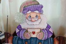 muñecos navidad / by Adriana Borrais