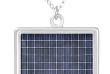 Solar panel jewelry / by Solarponics