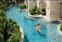 Pools..indoor, outdoor, infinity / by Tami Freeland