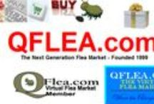 QFLEA Vendors / The items below are available from the many vendors at QFLEA,com, the Next Generation Flea Market.  Visit hundreds of small businesses offering thousands of high quality items, including many that are handcrafted, one-of-a-kind and personalized at www.QFLEA.com / by QFLEA Vendors