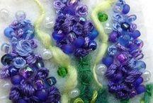 Fibre Art / embroidery / Textile / by Textile Print