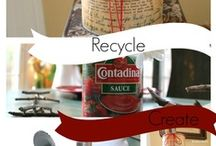 Recycle-Reuse-Repurpose / examples and project ideas / by Dusty Hackworth
