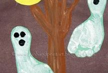 kids crafts Halloween / kids Halloween craft projects & party food / by Dusty Hackworth