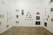 gallery / exhibition spaces / gallery spaces and layouts / by Colleen Baran