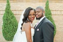 CHOCOLATE BRIDES + GROOMS / Featuring the best images on the planet of Black Love.  / by Chocolate Brides & Grooms