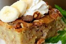 Bread Pudding Delights / by Kasey Duney