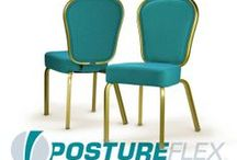 The PostureFlex Esprit / Flexback Nesting Banquet Chair by Bertolini Hospitality & Design. / by Bertolini HD