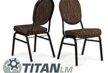 The Titan LM / Low Maintenance Banquet Stack Chair by Bertolini Hospitality & Design. / by Bertolini HD