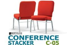 """Conference Stackers / The Conference Stackers abound in comfort and ergonomic characteristics typically not found in other conference and auditorium chairs. Our customers rave, """"They're the most comfortable conference chairs ever!"""" / by Bertolini HD"""