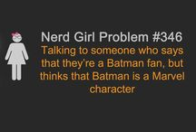 Nerd at heart..... / Star Wars Star Trek Batman Avengers I love it all!! / by Elizabeth Contreras-White