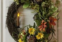 Wreaths-All holidays / by Shirley White Blazek