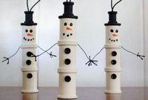 Christmas snowmen theme / by J Wood