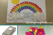 Bible Story Paper Crafts / Craft ideas for Sunday School and Awana / by Connecting Faith and Creativity