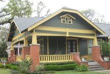 Paint The House / Color combos for wood siding and trim / by Kristen Erickson