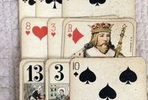 Cartes à jouer ... Playing cards / by NeverendingCraft