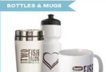 Rubio's Gear: Bottles & Mugs / by Rubio's