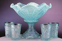 Vintage Glassware  / Old vintage dishes and glass ware. / by Lucille Kerner