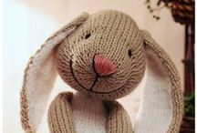 Rabbits / by Jo-lene Sathorar Made At Home Handicrafts