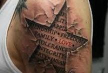 TATTOOS DON'T YOU LOVE EM! / Okay, this board is not about music, but if you're like us, you'll love tattoos...and we do! Here is a great collection of stunning (and sometimes not so stunning) tats! / by The Procession