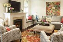 """Living Rooms"" / by Deborah Mansell Designs"