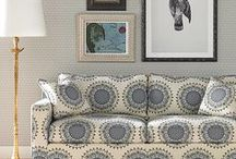 Patterned Sofas / by Deborah Mansell Designs