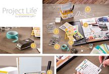"""Project life by Stampin' Up! / Ideas to """"scrap lift"""" or inspire your Stampin' Up! project life creations.  / by Chrissy Graham - Independant Stampin' Up! Demonstrator"""