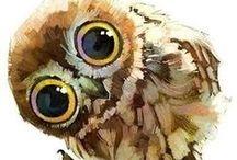 HouseDragon ~ Frequent Flyers ~  Birds & Bats / Birds & Bats.  That's all. / by Liz
