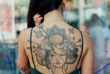 Tat tat tatted up / Tattoo it so i know its real. This permant form of art on the body expresses both the artist and gives us a glimpse at the wearer themselves. / by Alexis Venerus