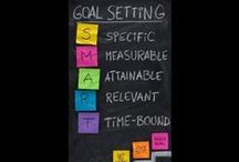SMART Goal Setting / Set SMART Goals / by Ryan Celestain {Youth Speaker}