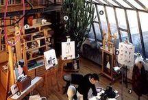 Artists & Artist Studios  & Work Space / by BerlinBeach Kat