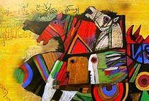 Art from the Arab World / by Fahad Mandil