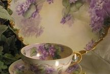 Charming Dishes  / chinz & other fine china / by Cathy Sacco