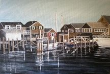 Let's Take the Ferry / Nantucket Island & Martha's Vineyard / by Cathy Sacco