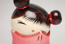 Japan Kokoshi Dolls / by Irene Nazak