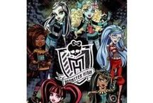 ♡Monster High♡ / Be yourself, be unique, be a Monster! I love Monster High! Hoping that I will get some of this stuff for Christmas and my Birthday! :) / by Kira