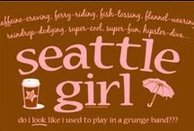 Seattle, Born and Raised, and still here / I have another Board for the Space Needle / by Marty Hillman