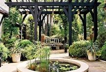 Garden patios & rooms / by K Laiblin