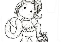 Digi stamps  / by Olive Roach