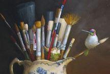Pintura (Country, Decorativa, Primitiva, Folk, Naif,...) / by Monica Beatriz Suarez