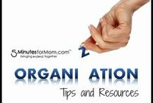 Organizing / Top Picks and Resources to Help You Get Organized / by Susan & Janice (5 Minutes For Mom)