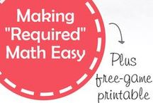 Math for Primary Grades / by Susan & Janice (5 Minutes For Mom)