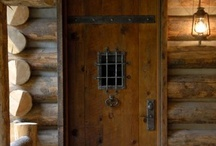 "Log Me In!! / Welcome to ""Log Me In!!!"" This is a group board for log cabins and anything pertaining to them. Fireplaces , antlers on the wall , solid wood furniture etc.  / by Cherylorraine Smith"