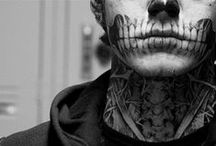 As a Photographer I find Rick Genest fascinating and beautiful / by Vera Spencer