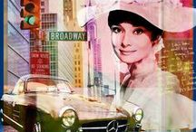 """That's Hepburn with an """"A"""" / All about Audrey Hepburn / by Patricia Parden"""