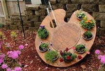 DIY: Garden / We love DIY action in the garden! / by Birds & Blooms Magazine