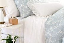 Pillows, Comforters and Quilts / I love bedding, all styles and colors. / by Christine Mossholder