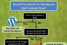 Wordpress / by WE BLOG DESIGN