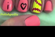 Nails / Cute fun ideas for nails / by Kerstyn Finch