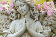 Angel   Statues / by Edwina